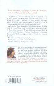 Le baiser de qumrân - 4ème de couverture - Format classique