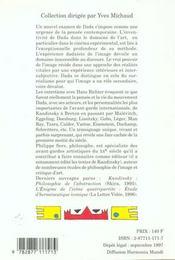 Sur Dada : Essai Sur L'Experience Dadaiste De L'Image - Intérieur - Format classique