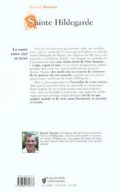 Sainte hildegarde n.43 - 4ème de couverture - Format classique
