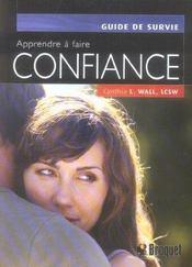 Apprendre A Faire Confiance - Intérieur - Format classique
