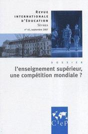 L'enseignement supérieur en débats ; revue internationale d'éducation de Sevres - Intérieur - Format classique