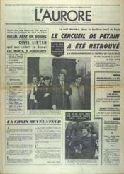 Aurore (L') N°8858 du 22/02/1973 - Couverture - Format classique