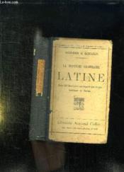 La Deuxieme Grammaire Latine. - Couverture - Format classique