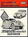 Renault Juvaquatre Et Dauphinoise (1938/1960) N 26 - Couverture - Format classique