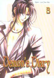 Demon'S Diary T.5 - Couverture - Format classique