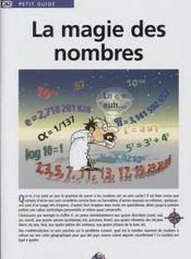 La Magie Des Nombres - Intérieur - Format classique