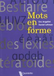 Mots en forme - Couverture - Format classique