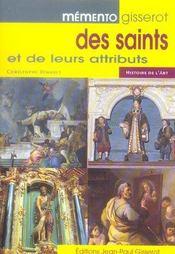 Memento gisserot des saints et de leurs attributs - Intérieur - Format classique