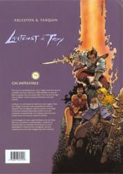 Lanfeust de Troy t.6 ; Cixi impératrice - 4ème de couverture - Format classique