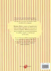Mme Misere - 4ème de couverture - Format classique
