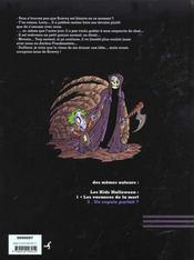 Les Kids Halloween T.2 ; Un Copain Parfait - 4ème de couverture - Format classique