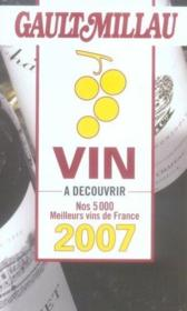 Guide gault millau le vin 2007 - Couverture - Format classique