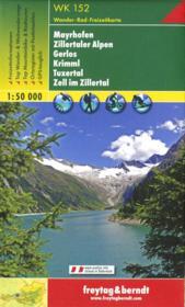 Wander, Rad, Freizeitkarte ; WK 152 - Couverture - Format classique