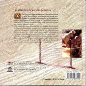 Le tissage dans l'atlas marocain. miroir de la terre et de la vie - 4ème de couverture - Format classique