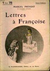 Lettres A Francoise. Collection : Select Collection N° 175 - Couverture - Format classique