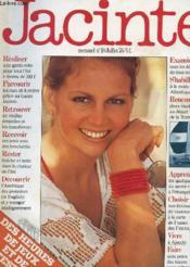Jacinte - Mensuel N°10 - Juillet 1976 - Garde-Robe - Londres - Vieilles Dentelles - Jeux - Couverture - Format classique