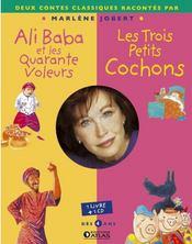 Ali Baba Et Les Quarante Voleurs ; Les 3 Petits Cochons - Couverture - Format classique