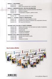 Ophtalmologie - 4ème de couverture - Format classique