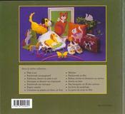 Creation papier ; tissus bois - 4ème de couverture - Format classique