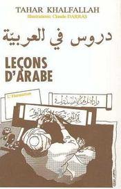 Lecons D'Arabe - Intérieur - Format classique