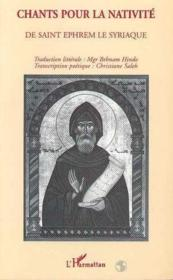 Chants pour la nativité de Saint Ephrem le Syriaque - Couverture - Format classique