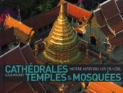 Cathedrales, Temples Et Mosquees ; Notre Histoire Lue Du Ciel - Couverture - Format classique