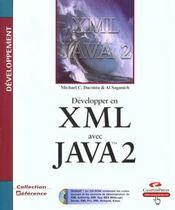 Reference Developpement Xml Et Java 2 - Intérieur - Format classique