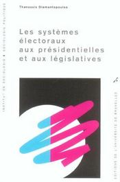Les systèmes électoraux aux présidentielles et aux législatives - Intérieur - Format classique