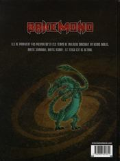 Bakemono T.1 ; Le Serment Du Tengu - 4ème de couverture - Format classique