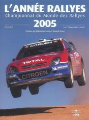 L'annee rallyes 2005 - Intérieur - Format classique