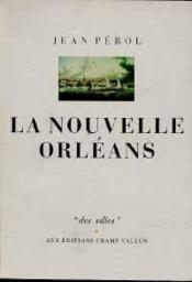 La Nouvelle Orléans - Couverture - Format classique
