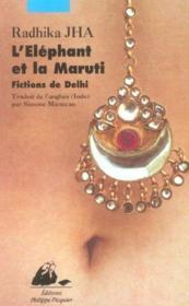 Elephant Et La Maruti (L') - Couverture - Format classique