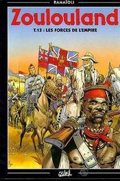 Zoulouland t.13 ; les forces de l'empire - Intérieur - Format classique