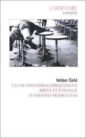 La Vie Fantasmagoriquement Breve Et Etrange D Amadeo Modigliani - Couverture - Format classique