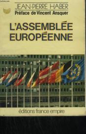 L'Assemblee Europeenne. - Couverture - Format classique