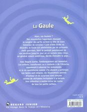 La Gaule - 4ème de couverture - Format classique