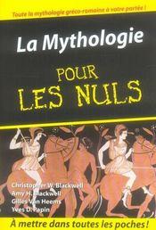 La mythologie pour les nuls - Intérieur - Format classique