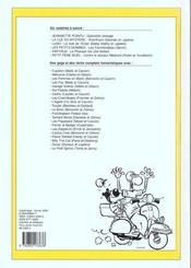 Recueil spirou t.268 - 4ème de couverture - Format classique