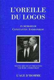 Oreille Du Logos (La) - Intérieur - Format classique
