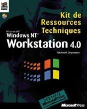 Kit De Ressources Techniques Windows Nt Workstation 4.0 - Couverture - Format classique