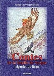 Contes De La Feuille De Vergne Legendes Du Bearn - Couverture - Format classique