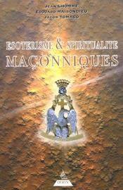 Esoterisme et spiritualite maconnique - Intérieur - Format classique