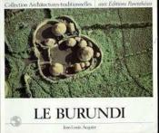 Le Burundi - Couverture - Format classique