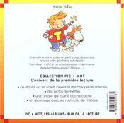 A L Ecole Des Crocos - 4ème de couverture - Format classique