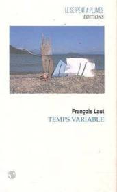 Temps variable - Couverture - Format classique