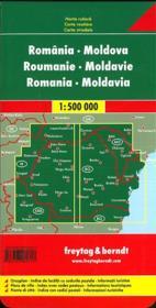 Romania, Moldova - 4ème de couverture - Format classique