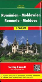 Romania, Moldova - Couverture - Format classique