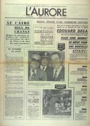 Aurore (L') N°8886 du 27/03/1973 - Couverture - Format classique