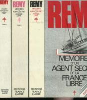 Memoires D'Un Agent Secret De La France Libre. En 3 Tomes. - Couverture - Format classique
