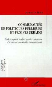 Communautes De Politiques Publiques Et Projets Urbains - Intérieur - Format classique